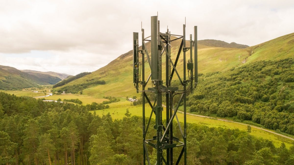 EE Partners With The Scottish Government And Home Office To Connect Rural Locations To 4G For First Time