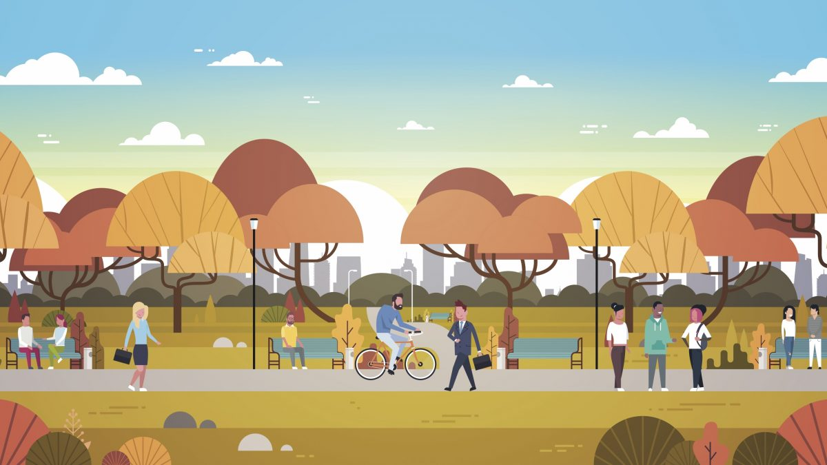 It won't be a walk in the park, but creating new ways to live and work could transform lives