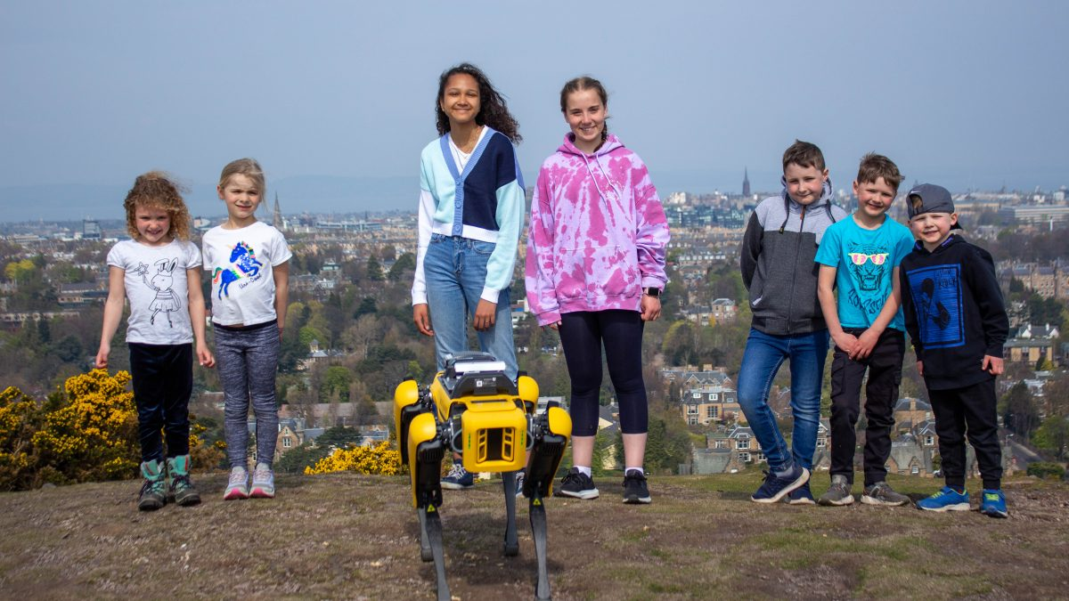 Scotland's first 'Spot' robot set to save lives and cut carbon emissions