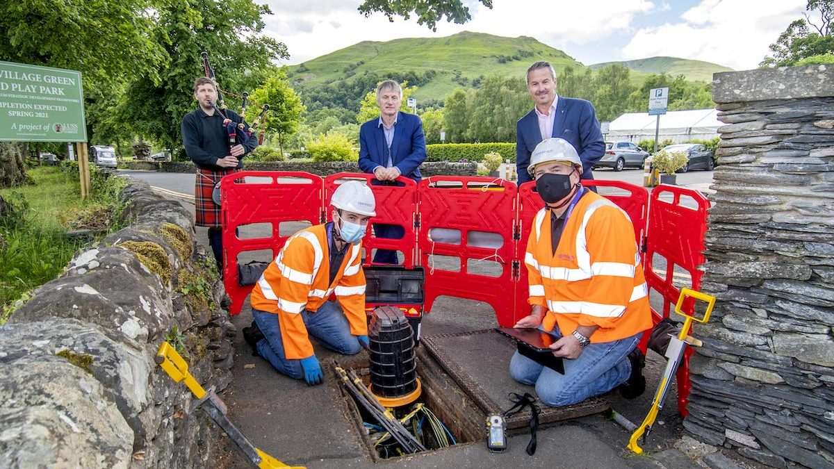 Almost a million premises reached in fibre broadband rollout