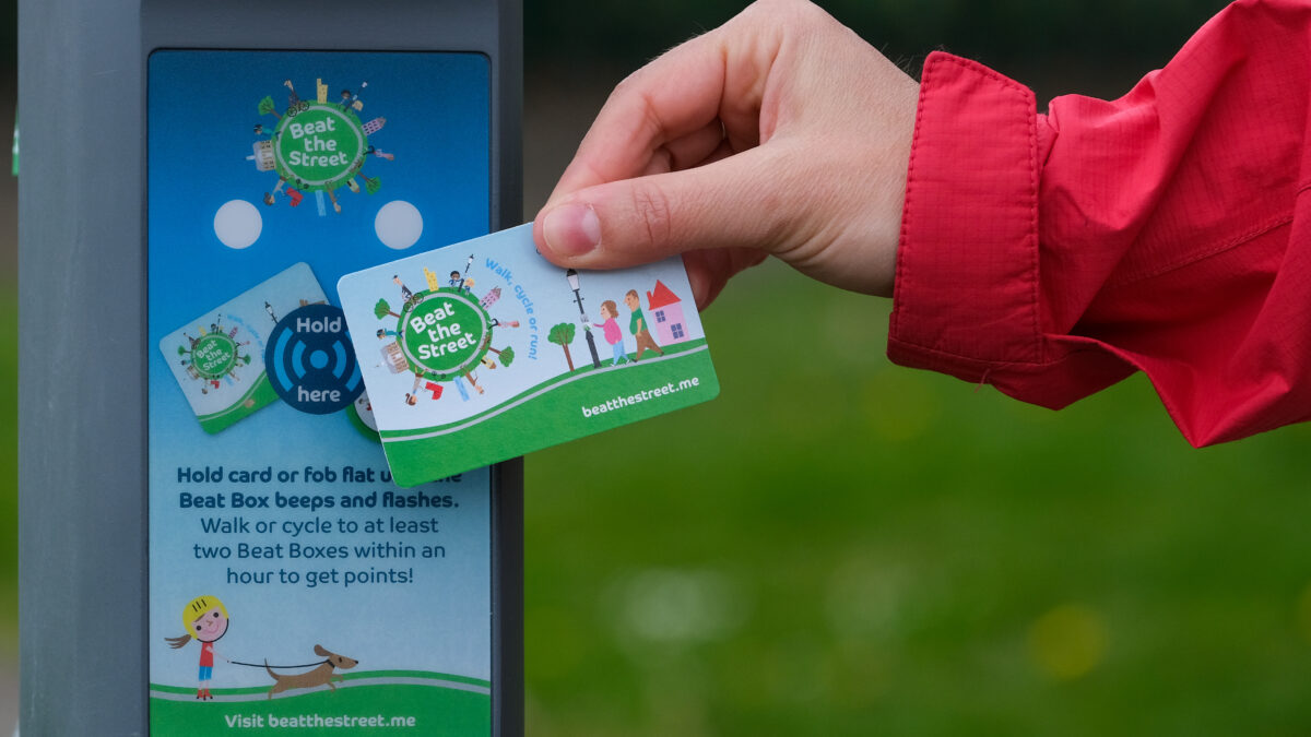 Can Renfrewshire 'beat the street' in physical activity game?