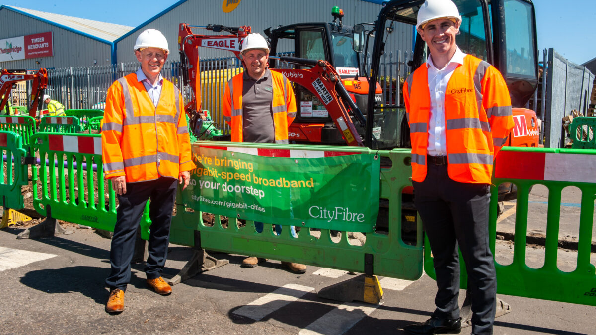 Next stage of full fibre rollout gets underway in Glasgow