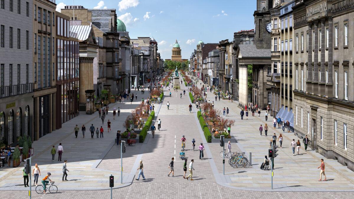 'Ambitious' vision to transform Edinburgh city centre unveiled
