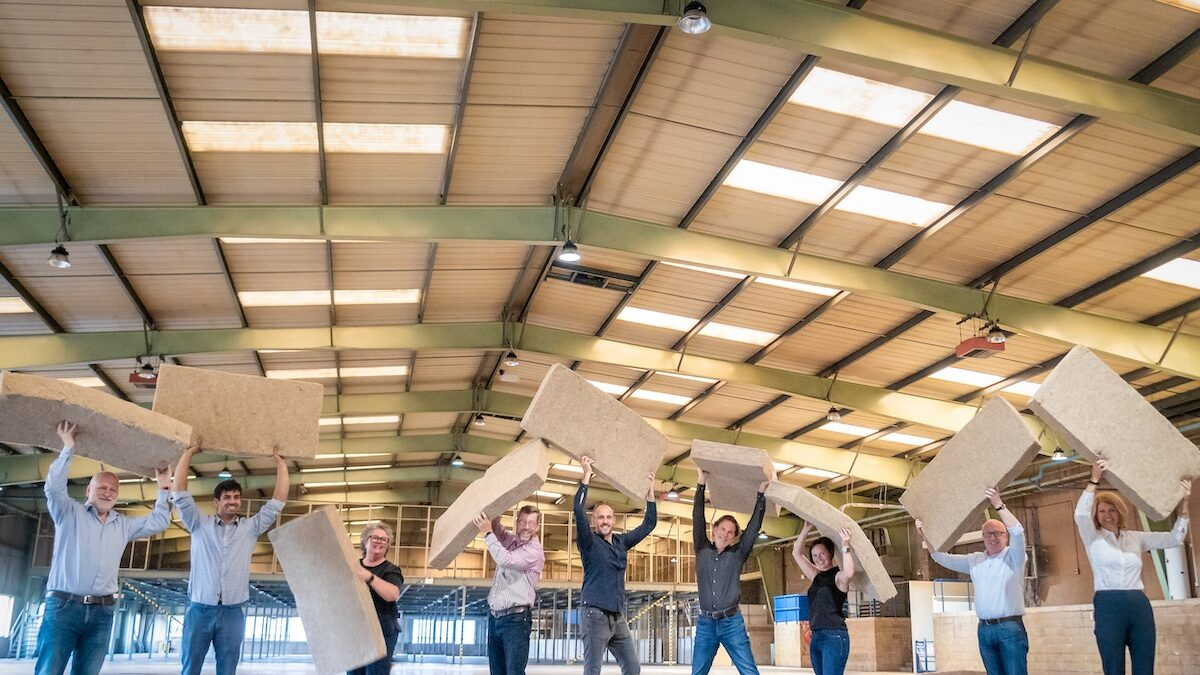 Lofty ambition for Scotland's first hemp manufacturing plant for home insulation