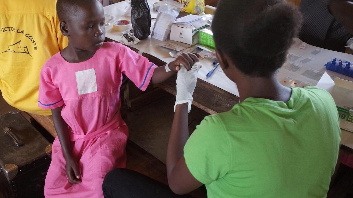 Paper folding 'origami' and app-based Malaria test developed by Glasgow researchers