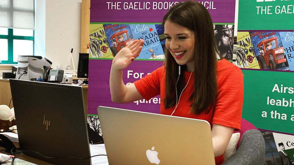 Learn with Linda: how Gaelic storytelling became an online hit during Covid