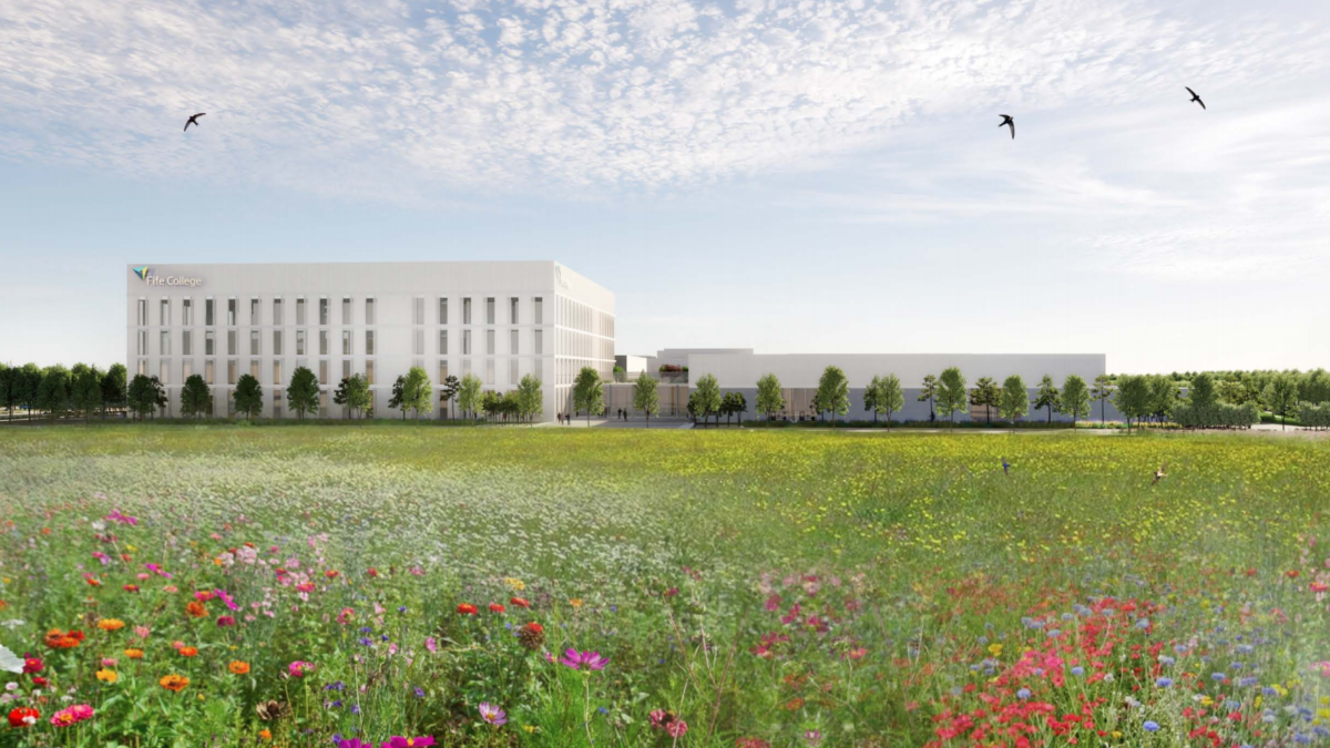 First images of new Fife 'super campus' revealed