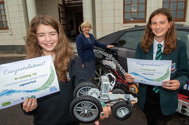 Aberdeen pupils win race for place in Cop26 hydrogen challenge final