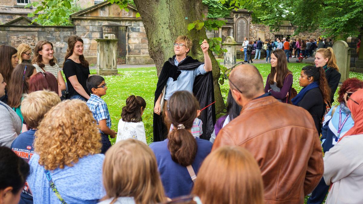 Edinburgh walking tour set for expansion after digital transformation