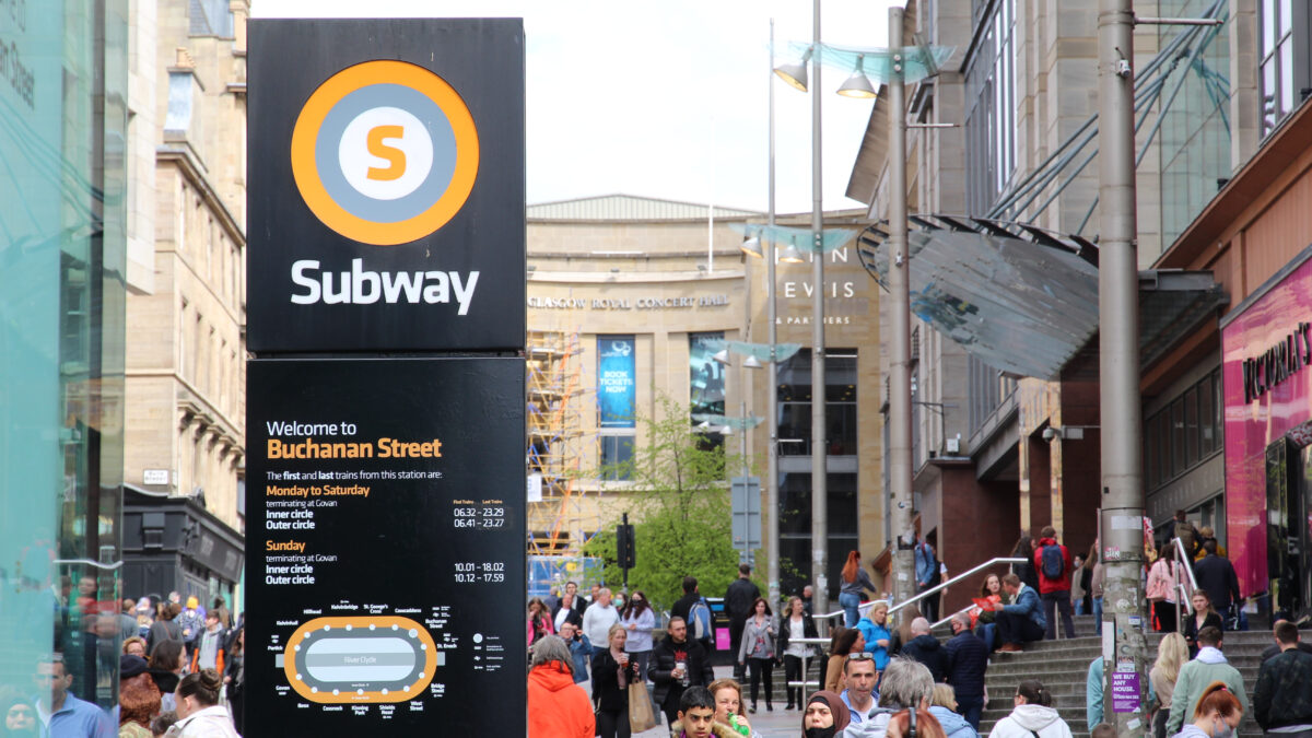 Losing signal underground could soon be history with Glasgow 5G subway trials