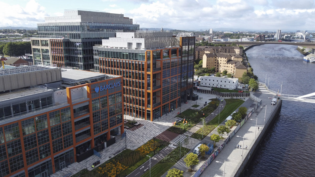 Barclays unveils new state-of-the-art financial campus in Glasgow