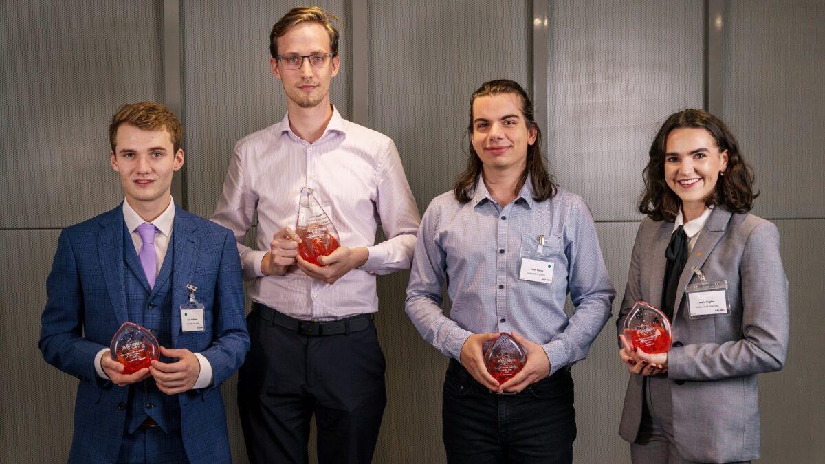 Scottish university student wins top award for AI-powered music tool